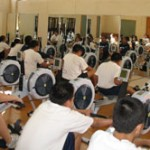Concept 2 rowing machines are a great fitness and motivation tool for kids