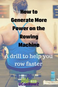 How to generate power on the rowing machine - a drill to help you row faster from https://old.ucanrow2.com Try this technique on these FREE low-impact rowing workouts: http://bit.ly/GetFlywheelFit #rowingworkouts #row #rowing #crossfit #wod #lowimpactworkout #rowingtechnique #fitness