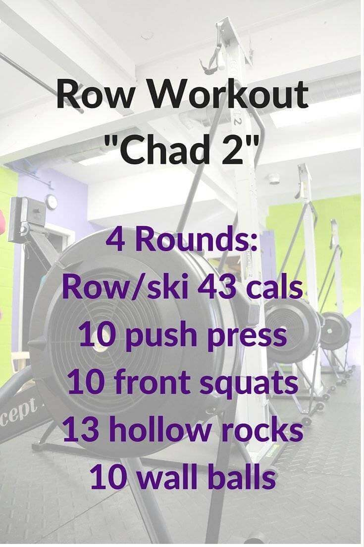 Get a behind the scenes look at how we put together the Chad 2 workout